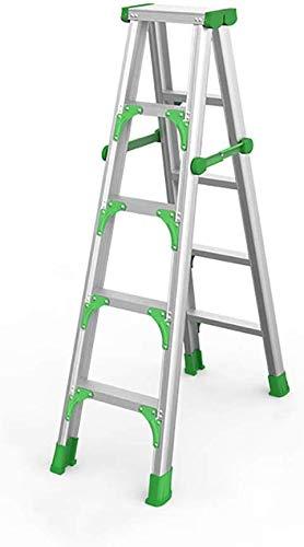 GBX Fácil Y Multifuncional Plegable Conveniente Taburete de Paso, Grande 5 Escalera Plegable Taburete...