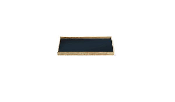 Gejst Frame Tablett Gro/ßes Eiche Blau M/ühelos Austauschbar Einfache Montage Mit Magnet Skandinavisches Design Perfekte Aufbewahrungsl/ösung 50,6 x 35,5 x 2,2cm
