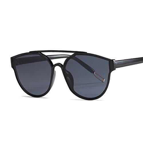 WWVAVA Sonnenbrillen New Vintage Splitter Cat Eye Sonnenbrille FrauenModemarkeDesigner Spiegel SonnenbrilleFür Weibliche Shades UV400, c4