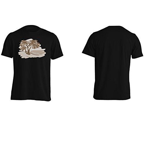 Nuova Mano Estiva Originale Di Estate Disegnata Uomo T-shirt i296m Black