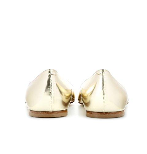 Kolnoo - Chaussures Fermées En Or Pour Femme