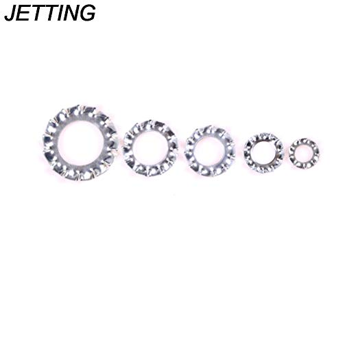 Spring Lock Washer (Cable Search - 100pcs Lot M3 M4 M5 M6 M8 304 Stainless Steel Washers External Toothed Gasket Washer Serrated Lock - Serrated Thread Remax Ring Choke Search Mirco Spring Ties Circlip Spiral Sle)