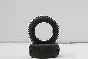 Jamara Jamara505119 - Cubierta de neumático de Escala 1:10 (2 Piezas)