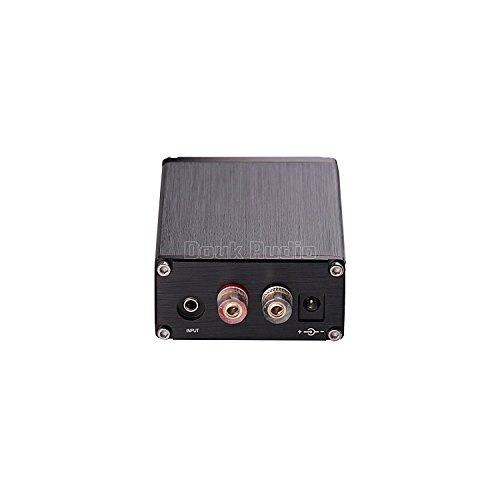 31jH49IWUIL. SS500  - Nobsound 100W Subwoofer Digital Power Amplifier Audio Mini Amp with power supply (Black)