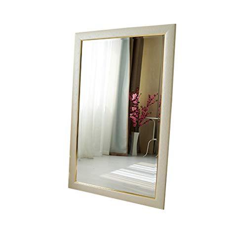 Specchio da trucco del bagno in stile europeo, specchio da toilette decorativo lavabile fissato al muro, specchio di bellezza