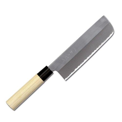 TOJIRO Yasuki Shirogami Japan Messer Nakiri poliert