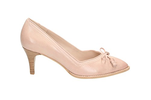 Clarks Bombay Lights, Escarpins femme Rose (Dusty Pink Lea)
