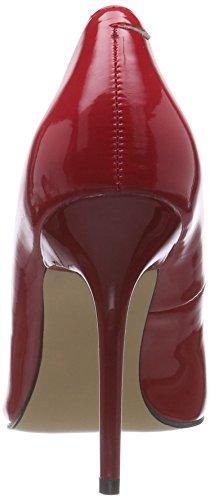 Pleaser  CLASSIQUE-20, Chaussures à talons - Avant du pieds couvert femmes Rouge (Red Pat)