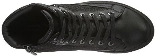 Armani - 9250016a438, Scarpe da ginnastica Donna Schwarz (NERO 00020)