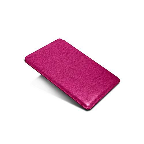 Lucrin - Housse pour iPad Pro 10,5 pouces - Fuchsia - Cuir Grainé