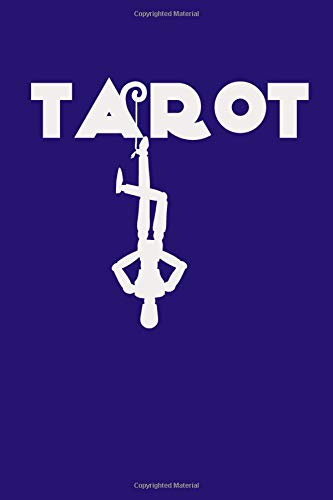 Tarot: Tarot Silhouette on Purple Background, Three Card Spread Tarot Journal , A Daily Record Your Readings Diary -