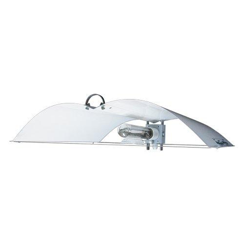 De ajuste de-A-alas tamaño mediano Defender blanco con separador de pastillas con montaje para Grow para kit de lámpara de vapor de sodio