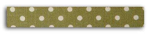 Unbekannt Toga dailylike lkt09Gaffa-Stoff gepunktet, Baumwolle, grün, 6,5 x 6,5 x 1,5 cm -
