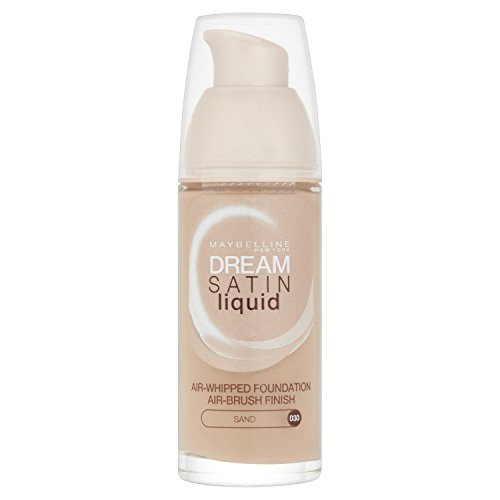 Maybelline Dream Satin, Fondotinta liquido, 030 Sand, 30 ml