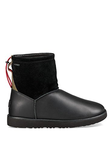 Stiefel Uggs Männer Winter (UGG in Übergrößen Boots CLASSIC TOGGLE WATERPROOF, Schwarz (Black), 44.5 EU)