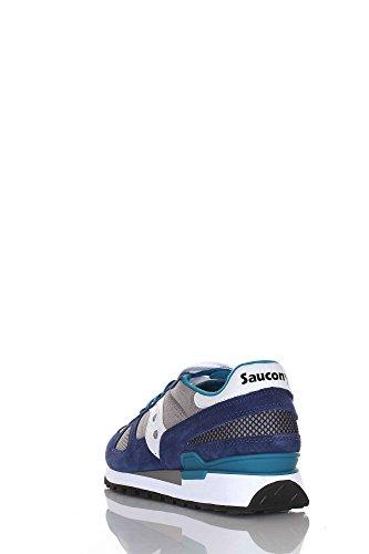 Scarpa uomo SAUCONY ORIGINAL modello SHADOW ORIGINAL colore GRIGIO BLU 2108-662 Blu