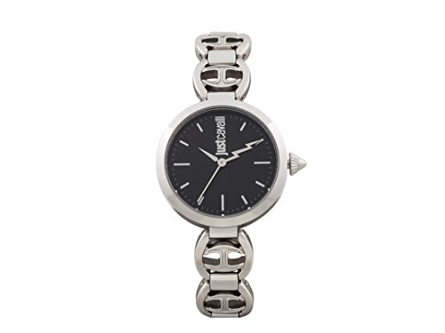 Just Cavalli Womens Analogue Quartz Watch with Stainless Steel Strap JC1L009M0065