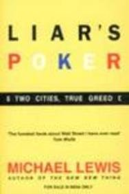 Book cover for Liar's Poker