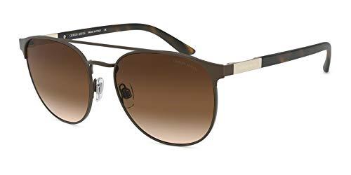 Ray-Ban Herren 0AR6083 Sonnenbrille, Braun (Matte Brown), 57.0