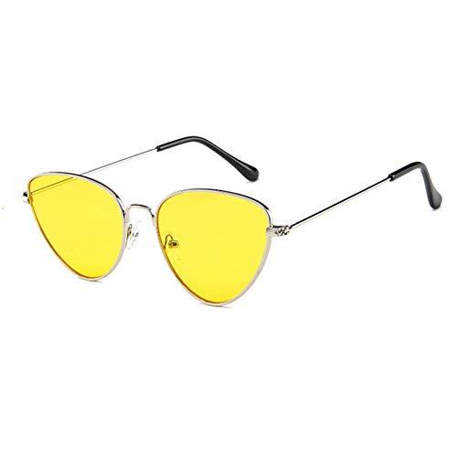 DWSYDA Frauen-Sonnenbrille-Objektiv-Weinlese-geformte Sonnenbrille-Frauen-Brillen-weibliche Sonnenbrille,3
