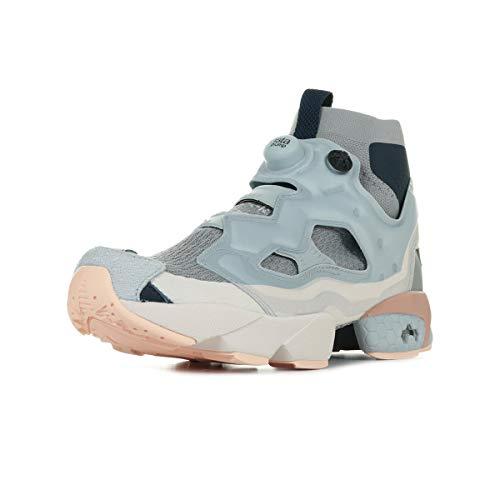 Reebok Instapump Fury OG ULTK DP Herren Running Trainers Sneakers (UK 4.5 US 5.5 EU 36.5, Power Cloud Grey Navy CM9352)