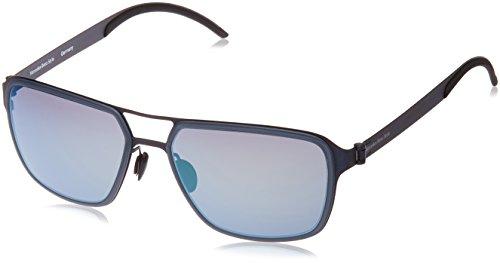 Mercedes Benz Herren M5031 Sonnenbrille, Blau, 58