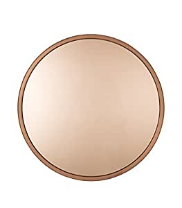 zuiver 8100014 bandit copper gold mirror 60 x 60 x 5 cm kitchen home. Black Bedroom Furniture Sets. Home Design Ideas