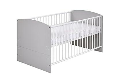 Schardt 044924602Kombi-Cama infantil, Classic Grey Incluye umbaukit, 70x 140cm