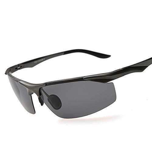 Uzanesx Sport polarisierte Sonnenbrillen Reitbrille Nachtbrillen für Frauen (Color : Black)