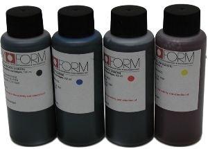 250 Ml-Cyan nur essbarer Tinte für Tintenpatronen oder standard Tintenpatronen mit Chip-Setter re, für Canon Drucker (Und Papier Essbare Tinte)