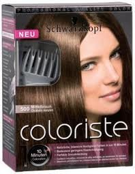 Schwarzkopf Coloriste 500 Chatain Moyen