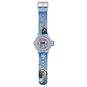 Frozen Mädchen Digital Uhr mit Plastik Armband FROZ52