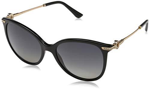Bulgari Damen 0BV8201B 501/T3 55 Sonnenbrille, Schwarz (Black/Polargreygradient),