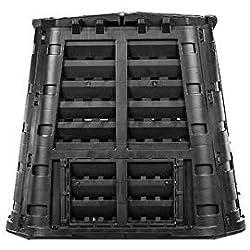 myGardenlust Komposter - Schnellkomposter aus Kunststoff - Thermokomposter als praktisches Stecksystem - Kompostierer stabil und hochwertig - Composter für Garten-Abfälle 420 L
