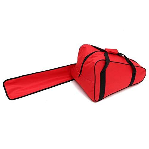 Speedmar Genaues Werkzeugzubehör-Set Kettensäge-Tragetasche Logging Saw Bag 12/14/16 Zoll Chainsaw Aufbewahrungskoffer-Halter Box Red (Saw Box Set)