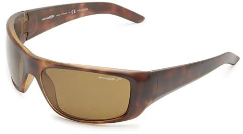 Arnette 4182-06 2197/83 Havana Hot Shot Rectangle Sunglasses