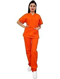 Amazon.it  Arancione - Abbigliamento da lavoro e divise ... 86ca01dc392