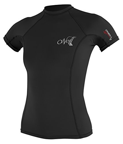 ONEILL WETSUITS O'Neill Wetsuits Damen Rash Guard Thermo-X Short Sleeve Crew, Black, S, 4618-002