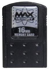 Max Memory Card 16 MB - Black