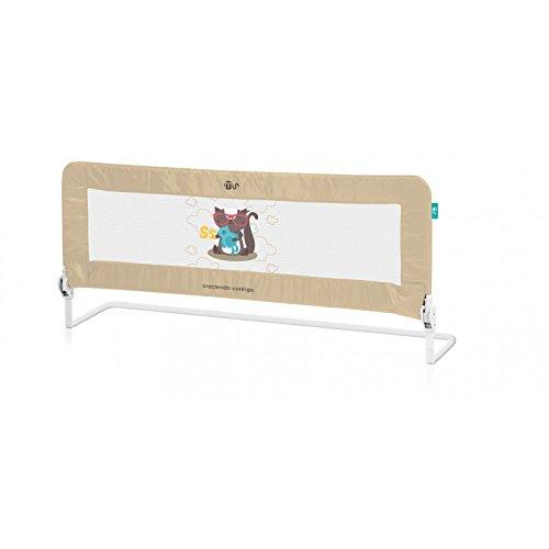 Barrera para cama nido, 150 cm diseño ardilla