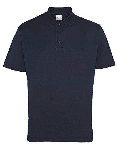 RTY Leistung und Arbeitskleidung Herren Polo - 6 Farben / Sml - 3XL White