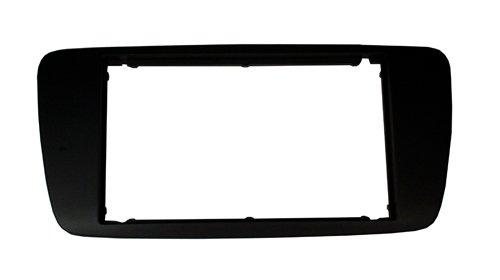 Autoleads DPF-18-04 - Ranura Doble DIN para Radio de Coche para Seat Ibiza BL, Color Negro