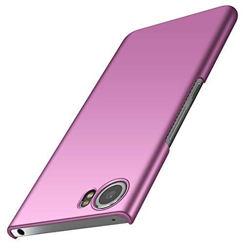 anccer BlackBerry Keyone Hülle, [Serie Matte] Elastische Schockabsorption und Ultra Thin Design für Keyone (Glattes Lila)