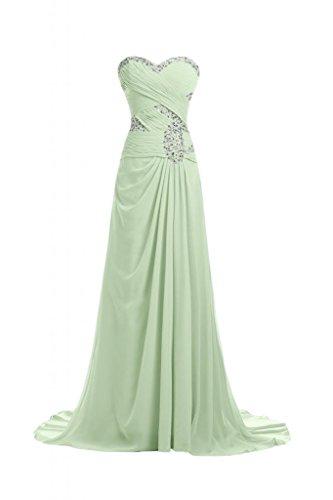 Sunvary elegante, della linea Sweetheart A-Line Vestito lungo da sera, abiti Pageant Sage