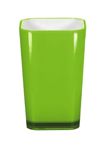 Kleine Wolke 5061645852 Easy Zahnputzbecher, grün
