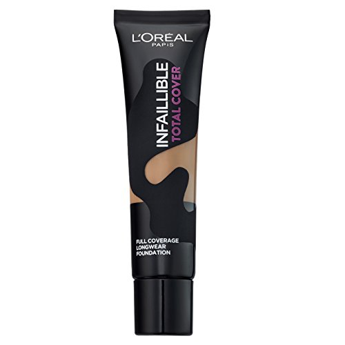 L'Oréal Paris  - Infaillible Fond de Teint Fluide Total Cover 24 - Beige Doré 35ml