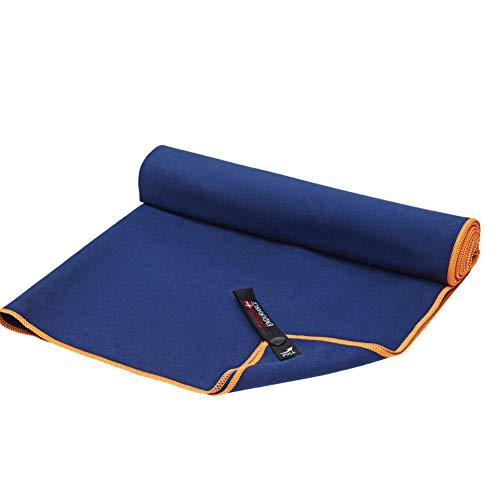 DANISH ENDURANCE Serviette en Microfibre de Voyage (Dusty Bleu, Large: 59,9x 119,9cm)