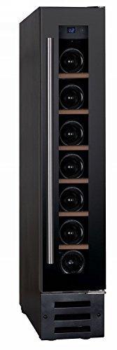 Dunavox - 'DX-7.22BK', Weintemperierschrank für 7 Flaschen, 1 Zone, 5 - 22°C, Einaugerät