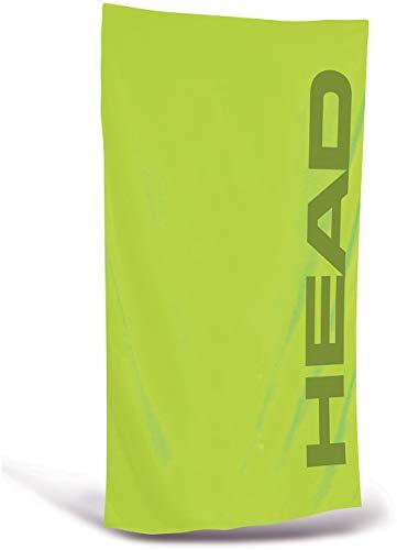 HEAD Sport Mikrofaser-Handtuch Unisex, Unisex - Erwachsene, lindgrün