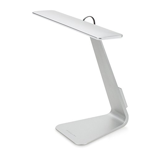 GranVela Lampada Intelligente Ultrasottile da Ufficio LED Smart Ultrathin Office LED Lettura e Illuminazione Standard, Pulsante Intelligente Tattile Con Connettore micro USB di ricarica Lampada da scrivania LED
